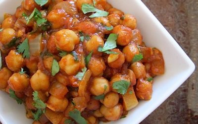 Spicy Chick Pea Curry