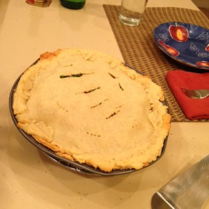 Chicken Pot Pie In Gluten Free Crust
