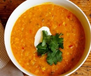 Pumpkin and Lentil Dahl