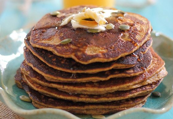 Pumpkin Pancakes – An Easy Grain-Free Hot Breakfast