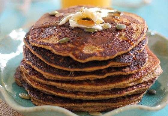 Pumpkin Pancakes – An Easy Grain-Free Hot Breakfast