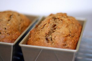 Banana Bread, Gluten Free with Coconut Sugar