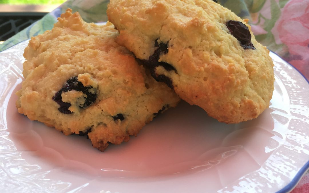 Raspberry Scones – Gluten Free, Sugar Free or Paleo